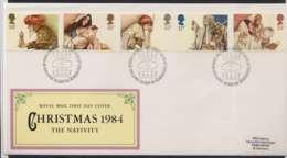 F0155)Grossbritannien FDC 1012/6 Weihnachten - FDC