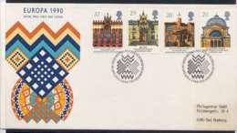 F0208)Grossbritannien FDC 1261 - 64 Cept - FDC