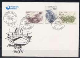 F0456)DK-Faeroer FDC 142/4 - Färöer Inseln