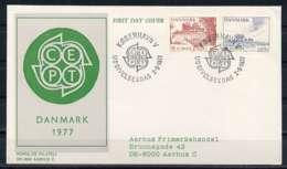 F0485)Daenemark FDC 639/40 Cept - FDC