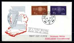 F1332)Irland FDC 146/7 Cept - FDC