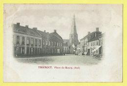 * Torhout - Thourout * (Wereldpostvereeniging) Place Du Bourg Sud, Burgplaats, église, Kerk, Herberg De Nieuwstad - Torhout