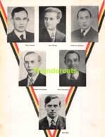 BIDPRENTJE 23cm X 17cm HORSEELE LENS HOUTART NOTELAERS VAN HOOREN REUL BLANKENBERGE OOSTENDE 1944 WEERSTAND 40/45 WW II - Devotieprenten