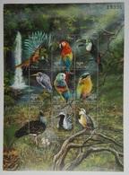 Bhutan 1999** Klb.1958-66. Birds Of The World MNH [12166] - Birds