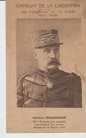 C.P.A. - EMPRUNT DE LA LIBÉRATION - LES VAINQUEURS DE LA MARNE - 1914 - 1918 - GÉNÉRAL HIRSCHAUER - COMMANDANT UNE ARMÉE - Guerra 1914-18