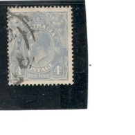 AUSTRALIA1921:Michel38XA (Yvert28) Used  Cat.Value $11.50 - Used Stamps