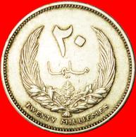 # STAR: KINGDOM LIBYA ★ 20 MILLIEMES 1385-1965! LOW START ★ NO RESERVE! - Libye