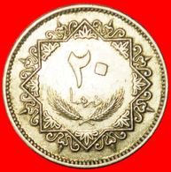 # HAWK: LIBYA ★ 20 DIRHAMS 1395-1975! LOW START ★ NO RESERVE! - Libyen