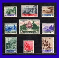 1950 - San Marino - Sc. C 63 - C 71 - MNH - SM- 090 - San Marino
