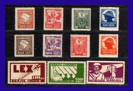 1932 - Brasil - Sc. 364 - 374 - MLH - BR-043 - Brasil