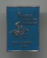 Rowing Canoe Kayak - European Championships 2005. TACEN Slovenia, Enamel Pin, Badge, Abzeichen - Rowing