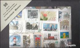Deutschland 50 Gramm Kiloware Gestempelt Deutschland Mit Mindestens 10% Sondermarken - Briefmarken