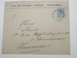 NEDERLANDE   , Firmenlochung , Perfin , Brieven  Rotterdam 1904 - Brieven En Documenten