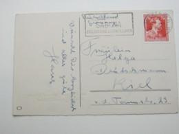 BELGIEN  , Firmenlochung , Perfin , Antwerpen 1951 - 1934-51