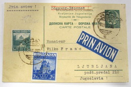 Rumanía 523+Yugoslavia 310 - Cartas