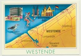 AK  Westende - Cartes Géographiques