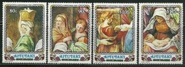 Aitutaki 1992 Yvertn° 520-523 *** MNH Cote 10 Euro Noël Christmas Kerstmis - Aitutaki