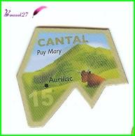 Magnet Le Gaulois Les Départements - 15 Cantal Puy Mary - Magnets