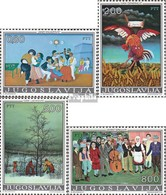 Jugoslawien 1569-1572 (kompl.Ausg.) Postfrisch 1974 Naive Malerei - 1945-1992 Sozialistische Föderative Republik Jugoslawien