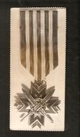 K Old 2 Photos Latvia Latvian Award Badge Order Medal Cross 1919 - Photographs