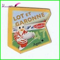 Magnet Le Gaulois Les Départements - 47 Lot Et Garonne - Agen - Magnets