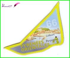 Magnet Le Gaulois Les Départements - 66 Pyrénées Orientales - Collioure - Perpignan - Magnets