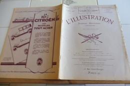 L'ILLUSTRATION 3 JUILLET 1926-ROI ESPAGNE-L'ARMEE DU SALUT- RALLYE CHAMPAGNE-MERVEILLES D'ART DE TOUT ANKH AMON-FAYOLLE - Journaux - Quotidiens