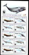 23.10.1998; Baleine In Sud Oceans, No. 1177 - 1180 En Feuillet; Neuf **, Lot 50796 - Afrique Du Sud (1961-...)