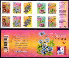 1.11.2000; Flora En Carnet, Michel No. 1312C - 1321C ; Neuf **, Lot 50800 - Carnets