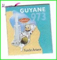 Magnet Le Gaulois Les Départements - 973 Guyane Fusée Ariane Dom Tom - Magnets