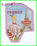 Magnet Le Gaulois Les Départements - 75 PARIS Ile De France 93 94 77 Tour Eiffel - Magnets