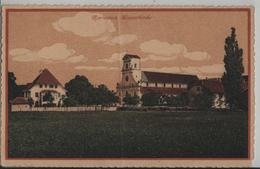 Mariastein - Klosterkirche - Litho Guggenheim - SO Solothurn