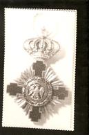K Old 2 Photos Award Badge Order Medal Cross Crown German Eagle Letter I - Photographs