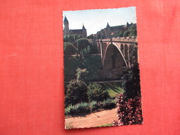Luxembourg  Pont Adolphe- Has Stamp & Cancel   Ref 3104 - Postcards