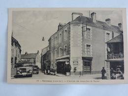 Savenay - Arrivée Des Autos Cars De Nantes Ref 1713 - Savenay