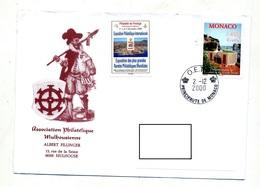 Lettre Cachet O E T P Sur Musee Postal - Marcophilie - EMA (Empreintes Machines)