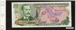 Banconota Costa Rica  5 Colones - Costa Rica