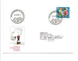 SUISSE 1986 OBLITERATION DE SCHWENDEN IM DIEMSTIGTAL - Marcofilia