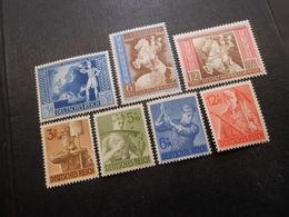 D.R.Mi 820-822**/850-853**MNH  - 1942/1943 - Mi 9,00 € - Germany