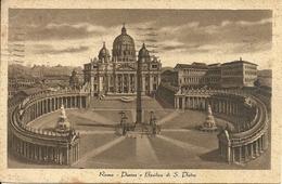 Città Del Vaticano, Piazza E Basilica Di San Pietro E Palazzo Apostolico - Vaticano