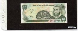 Banconota Nicaragua 10 Cordobas - Nicaragua