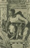 """Città Del Vaticano, Cappella Sistina, """"il Profeta Daniele"""" (Michelangelo), The Prophet Daniel - Vaticano"""
