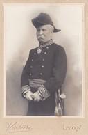 Photo Cabinet  Militaire Général Tastavin Photo Victoire Lyon - Anciennes (Av. 1900)