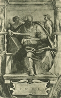 """Città Del Vaticano, Cappella Sistina, """"il Profeta Gioele"""" (Michelangelo), The Prophet Joel - Vaticano"""