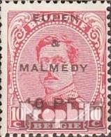 Belg. Post Eupen / Malmedy 2 Oblitéré 1920 Albert I. - Guerre 14-18