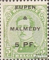 Belg. Post Eupen / Malmedy 1A Avec Charnière 1920 Albert I. - Guerre 14-18