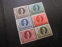 D.R.Mi 844-849 Satz**MNH  - 1943 - Mi 14,00 € - Deutschland