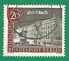 * 1962 / 1963 N° 199  CHATEAUX DE BERLIN OBLITÉRÉ TB - [5] Berlin