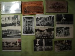 CHATEAU DE VERSAILLES. LOT DE 3 CARNETS ET 30 CPA / CPSM. 1904 / 1941 QUELQUES UNES ANIMEES. LE PETIT TRIANON / GRAND T - Versailles