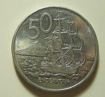 New Zealand 50 Cents 1988 - Nouvelle-Zélande
